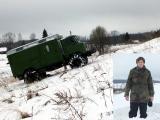 Students Jānis Kancāns pārbūvē un izmēģina GAZ66